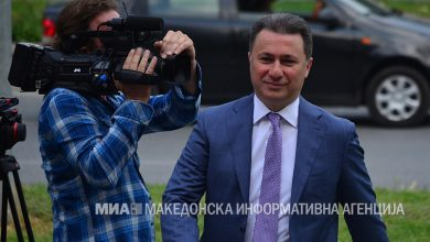 Photo of Gruevski's expulsion from Parliament to be debated on Tuesday