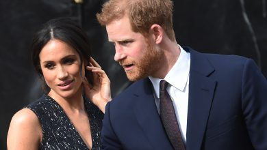 Photo of Britain's Prince Harry and wife Meghan expecting second child