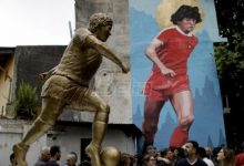 Photo of Argentina's capital unveils its first Maradona statue