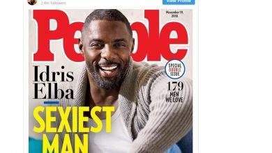 Photo of Britain's Idris Elba named People mag's 'sexiest man alive'