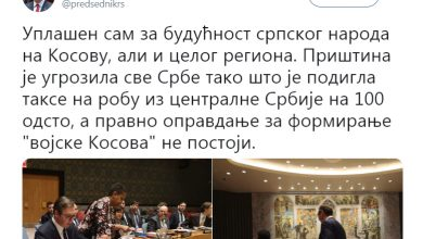 Photo of Serbia and Kosovo trade accusations over Pristina's new army