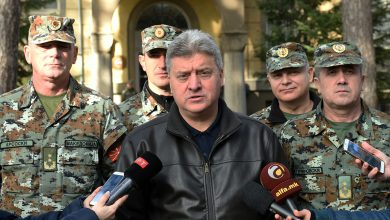 Photo of President Ivanov extends New Year greetings to Macedonia's armed forces