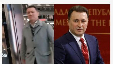 Photo of Ex-PM Gruevski caught on camera in Budapest shopping mall