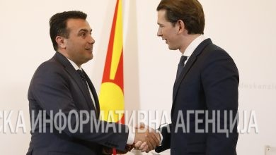 Photo of Zaev, Kurz express readiness to resume cooperation over Vienna terror attack