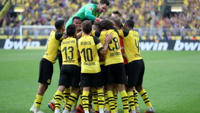 Photo of Can:Dortmundreturn to training ground in small groups