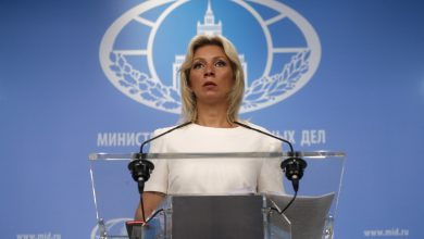 Photo of Zakharova calls accusations of Russian interference in North Macedonia elections 'absurd'