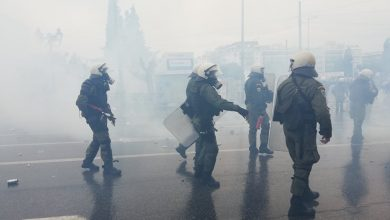 Photo of Around 60,000 protesters in Athens, Greek police say