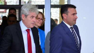 Photo of Zaev and Ahmeti in constructive meeting, foundations laid for progress