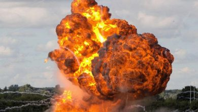 Photo of Huge blasts at Russian munitions factory injure 27