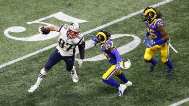 Photo of Patriots defeat Rams 13-3 in American football's Super Bowl
