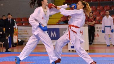 Photo of Macedonian karate fighters win 7 medals at Zagreb university championships
