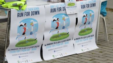 Photo of Run for Down race to raise awareness and support children