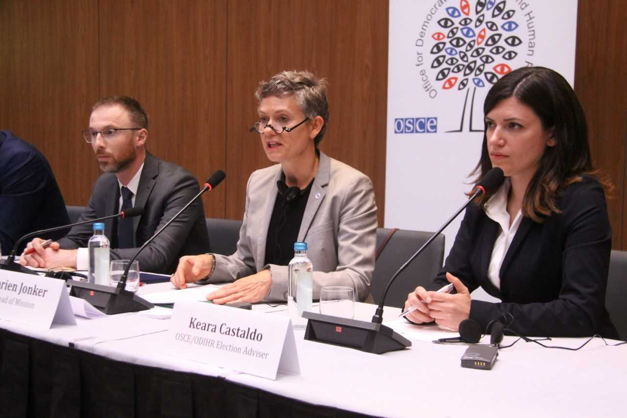 OSCE/ODIHR Election Observation Mission issues Interim Report on