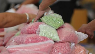 Photo of Myanmar touts region's 'largest ever' synthetic drug bust
