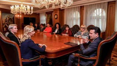 Photo of PM Zaev meets delegation of PES Women