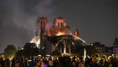 Photo of Macron: Notre Dame Cathedral to be rebuilt on schedule by 2024