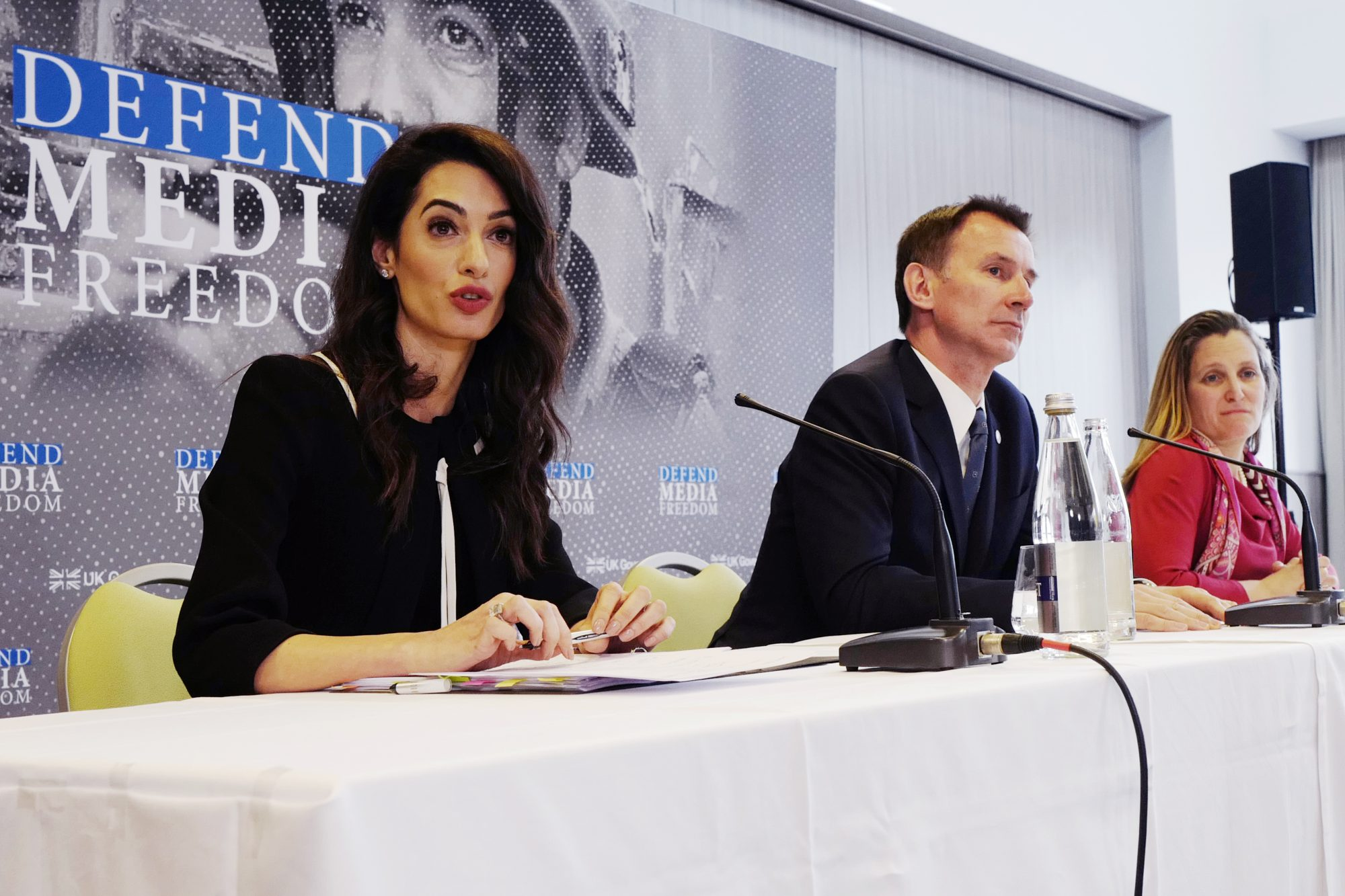 Amal Clooney to join British-backed press freedom campaign – MIA