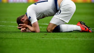 Photo of Tottenham say striker Kane has torn hamstring