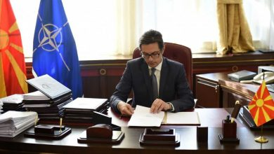 Photo of Pendarovski sends condolences to Albanian President Meta