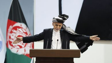 Photo of Afghan President Ghani wins second term, final poll results show