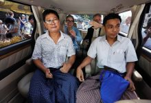 Photo of Pulitzer Prize-winning Reuters reporters freed from Myanmar prison