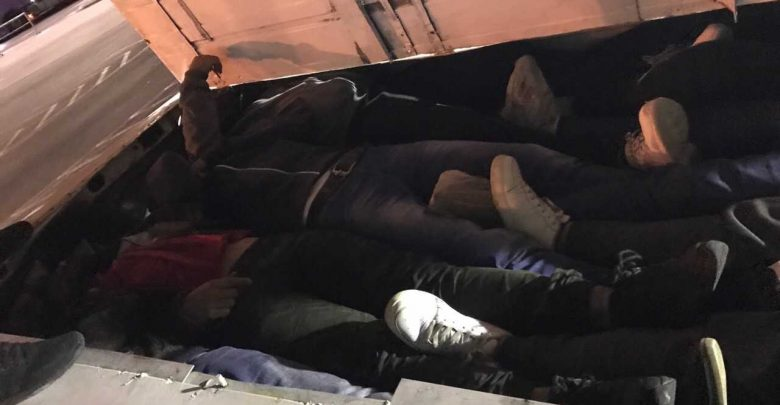 Photo of Police find 19 migrants in cargo vehicle, driver detained