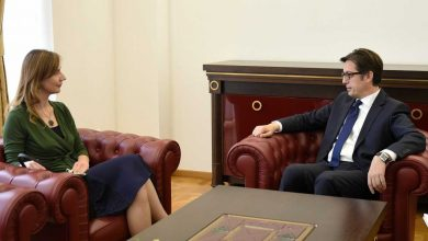 Photo of President Pendarovski meets central bank governor