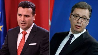 Photo of PM Zaev joins Serbia's Vucic for inauguration of Corridor 10's southern leg