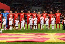 Photo of Macedonian football team keeps its 68th place in new FIFA's ranking