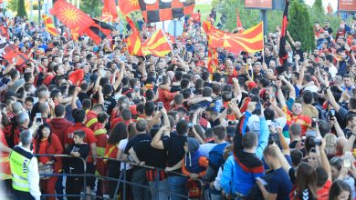 Photo of Thousands gather to welcome EHF's champion Vardar