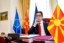 Photo of President Pendarovski signs promulgation of laws on opening two border crossings with Greece