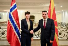 Photo of PM Zaev meets Norway's FM Eriksen Søreide