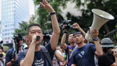 Photo of China warns Hong Kong protesters not to 'play with fire'