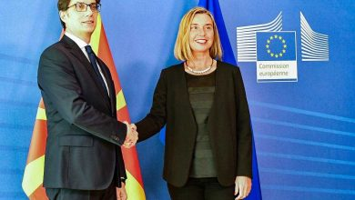 Photo of Mogherini: North Macedonia should get date at same time as Albania