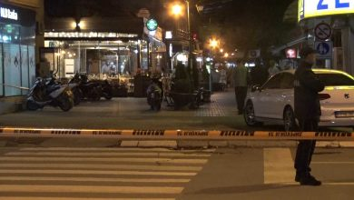 Photo of Mock bomb removed in downtown Prilep