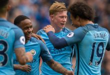 Photo of Man City up to second after Burnley win; 10-man Palace go fifth