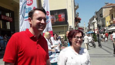 Photo of Local Self-Government Minister, Bitola mayor present government VAT refund project