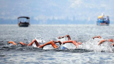 Photo of Twenty two swimmers compete in Saturday's Ohrid Swimming Marathon