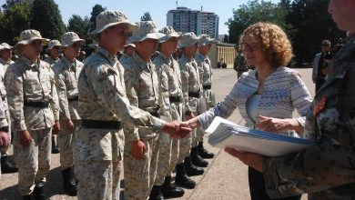 Photo of 125 professional soldiers join North Macedonia's Army