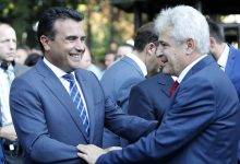 "Photo of Ahmeti's ""Albanian PM"" comment stirs reactions from political parties"