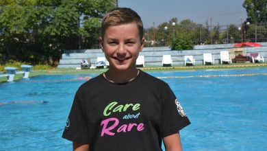 Photo of Young Marko Pejchinovski to swim ultramarathon in support of people with rare diseases