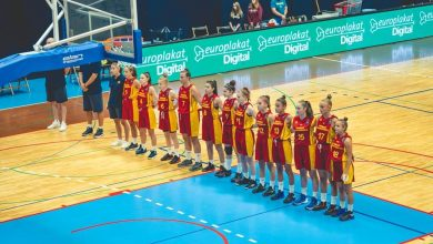 Photo of U14 girls' national basketball team eliminated from Slovenia Ball tournament