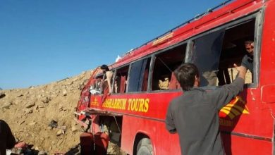 Photo of At least 26 people killed in bus crash inPakistan