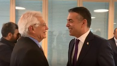 Photo of EU's Borrell voices personal commitment to North Macedonia's EU integration