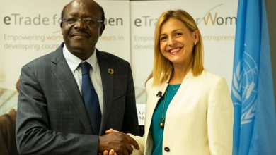 "Photo of UNCTAD unveils Angelovska as ""woman digital entrepreneur"""