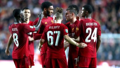 Photo of Liverpool four wins from title after victory over West Ham