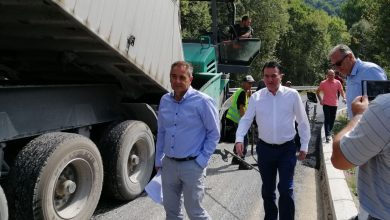 Photo of Sugareski: Mavrovo-Nikiforovo road rehabilitation to be completed in October