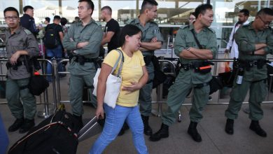 Photo of Hong Kong police ramp up security ahead of airport 'stress test'