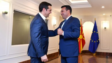 Photo of Tsipras congratulates Zaev on election victory