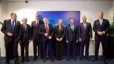 Photo of EU and Balkan leaders regret non-decision to open talks with Skopje and Tirana